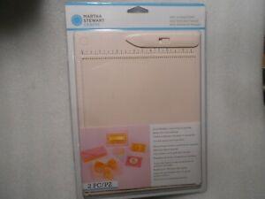 Martha Stewart Mini Scoring Board With Folder 42-05013