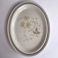 """Vintage Royal Doulton SANDSPRITE 13"""" Oval Platter Set Of Two"""