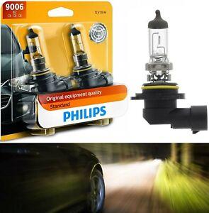 Philips Standard 9006 HB4 55W Two Bulbs Head Light Lamp Replacement Plug Play OE