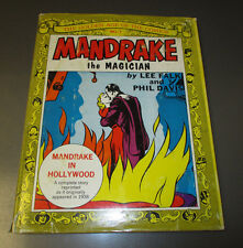 1970 Golden Age of Comics #7 Mandrake The Magician Hc/Dj Vf+/Vg+ Lee Falk