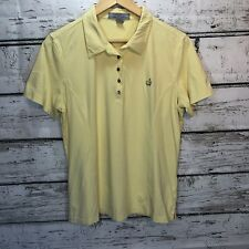 Masters Collection Ladies Yellow Golf Polo XL