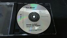 FORT MINOR - REMEMBER THE NAME 1-TRACK PROMO SINGLES CD