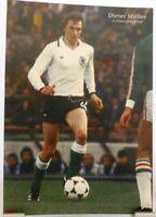 Dieter Müller + Fußball Nationalspieler DFB + Fan Big Card Edition B183 +
