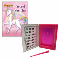 6 Unicorn Secret Sketchers - Pinata Toy Loot/Party Bag Fillers Wedding/Kids