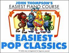 Easiest Pop Classics John Thompsons Piano Course Sheet Music Book Police ABBA