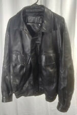 FASHION Leather Wear Vintage Style Jacket Made in Italy Size 52