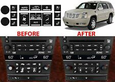 AC Button Repair Kit For 2007-2014 Cadillac Escalade Fix Your Peeling Buttons!
