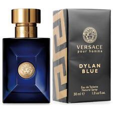 Versace DYLAN BLUE 1.0 oz 30 ml Men Cologne EDT Spray Brand New In Box