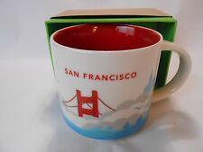 San Francisco NEW Starbucks Coffee Tea Cup Mug 14oz You Are Here Collection