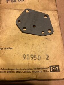 Nos Mcculloch vintage chainsaw oil pump gasket 91950  $1 auctions
