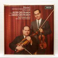 SXL 6088 - DAVID & IGOR OISTRAKH - MOZART sinfonia concertante DECCA LP NM