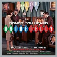 Songs You Heard On The Telly 3-CD NEW SEALED Sam Cooke/Dick Dale/Dion/Shadows+