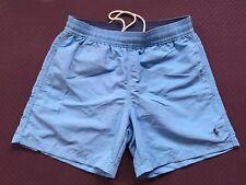 Polo Ralph Lauren hawaiano Shorts De Baño Azul Cielo Talla S