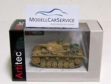 "Artitec 1/87: 387.306 Armored Car III Ausf. G "" German Afrika Korps "" (Dak )"
