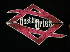 TNA Austin Aries T Shirt The Greatest Man that Ever Lived M Medium NXT WWE ROH