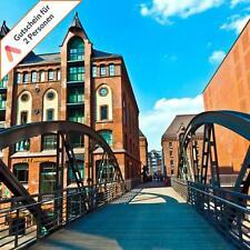 Städtereise Hamburg Mitte Apartment Hotel Gutschein 2 Personen Dinner 3 - 4 Tage