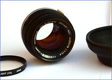 OLYMPUS OM ZUIKO F:50mm 1:1,4 OM SYSTEM GRANDE OUVERTURE  EXCELLENT ETAT
