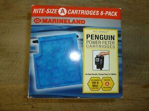Marineland Rite-Size Cartridge 6pk A Bio-Wheel Penguin Power Filter CartridgeFS