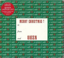 QUEEN - A WINTER'S TALE 1995 UK CHRISTMAS TRI-FOLD DIGIPAK CD SINGLE CDQUEENS 22
