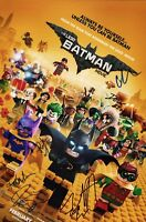 "~~ LEGO BATMAN MOVIE Cast(x7) Authentic Hand-Signed ""Will Arnett"" 11x17 Photo ~~"
