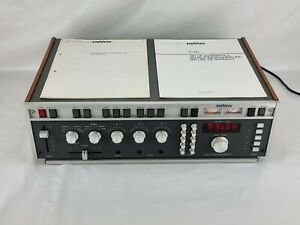 Revox Digital FM Tuner Preamplifier A 720 with manual and set of schematics