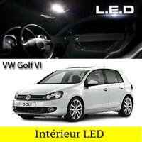 LED Innenraumbeleuchtung Beleuchtung Set / 11 led Glühbirnen für VW Golf 6 VI