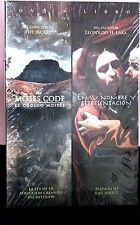 NEW THE MOSES CODE EL CODIGO MOISES / EN SU NOMBRE Y REPRESENTACION / DVD+LIBRO