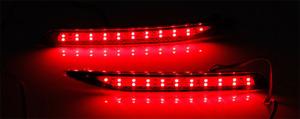 For Honda Accord Nine Generation Pair LED Rear Bumper Light Assembly 2014-2015