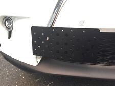 Front Bumper Tow Hook License Plate Mounting Bracket For Lexus GS LS RC RX