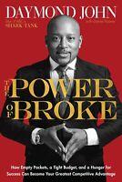 Signed Book Daymond John The Power of Broke Autograph SHARK TANK D. Peisner FUBU