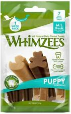 WHIMZEES Puppy 9-18 kg M/L - 7 Pieces Natural Dental Dog Chews Long Lasting