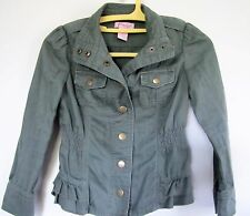 Girl Teen S Candies Solid Green Jacket Cotton School Casual Kohl Fall Spring