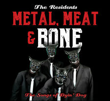 THE RESIDENTS New Sealed 2020 METAL, MEAT & BONE 2 CD SET Pre Order
