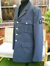 VINTAGE MAN'S RAF UNIFORM No.1 Dress JACKET BLAZER WOOL ORIGINAL free 24 UK Post