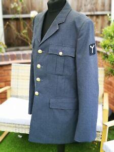 VINTAGE MAN'S RAF UNIFORM No.1 Dress JACKET BLAZER WOOL ORIGINAL