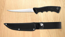 Rada R210 Sportsman's Fillet Knife American made w/leather scabbard L/R hand NEW