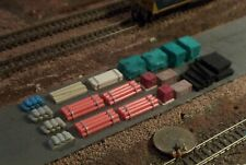 20 pc N Scale Details Pipes Bricks, Lumber and more A