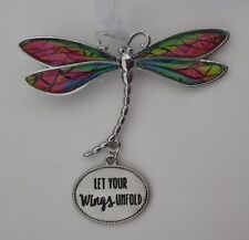 zzG Let your wings unfold Delightful Dragonfly Ornament Ganz