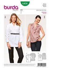 Schnittmuster burda style No 6456 Bluse Gr. 34 - 46