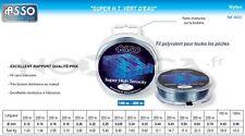 Promo: Nylon Asso Super H.T. 0.14mm 1.940kg 200m vert d'eau