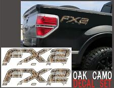 Fx2 SPORT Truck Bed Decals OAK TREE CAMOUFLAGE Set for Ford F-150 & Super Duty