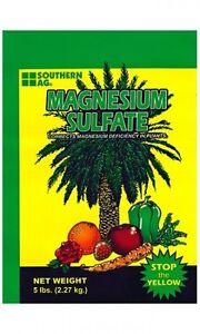Magnesium Sulfate Fertilizer - 25 Lbs