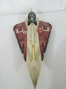 Hasbro 2001 OBI-WAN KENOBI'S JEDI STARFIGHTER Attack of the Clones