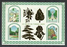 FRANCE 2004...Miniature Sheet n° 71 **..GARDENS OF FRANCE...SALON DU TIMBRE 2004