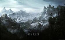 "The Elde Skyrim Scrolls Amazing Photo Canvas Hot sell art Poster 40""x24"""