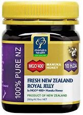 Manuka Honig MGO™ 400+ mit Gelee Geleè Royal Manuka Health 250g (100g/€ 28,76)