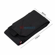 Black Tactical Molle Big Size Cellphone Pouch Bag for Samsung Note3/N9000