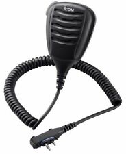Icom 168lwp HM IP X7 Microphone Speaker – Black