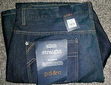 Mens PD&C PAPER DENIM & CLOTH Nolan Blue Denim Jeans NWT 42x30 $84