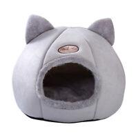 Lit pour chien Maison peluche Couchage douillet niche dog chaud chat Nid Panier